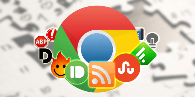 Google web store extensions