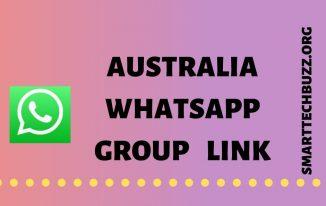 australia whatsapp group link