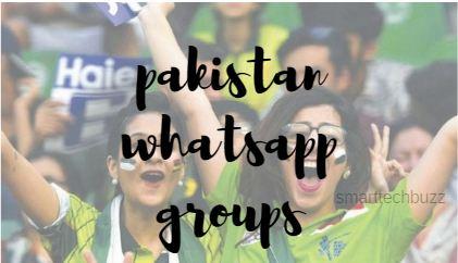Pakistan Whatsapp Groups