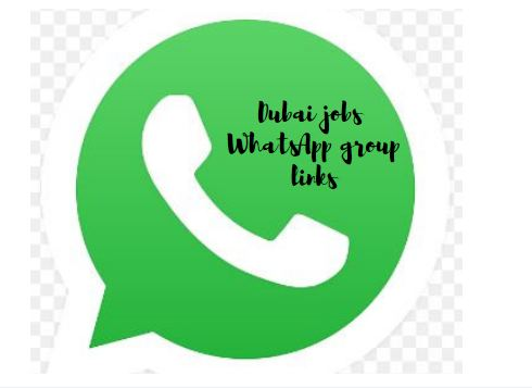 Dubai jobs WhatsApp group links