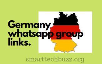 Germany WhatsApp group links