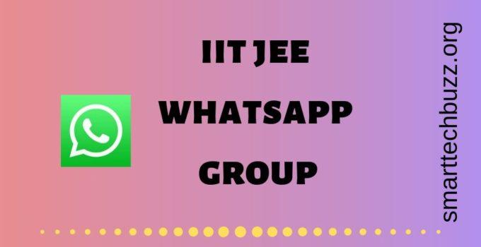 IIT JEE whatsapp group