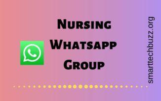 Nursing whatsapp group