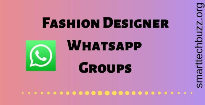 Fashion Designer Whatsapp group