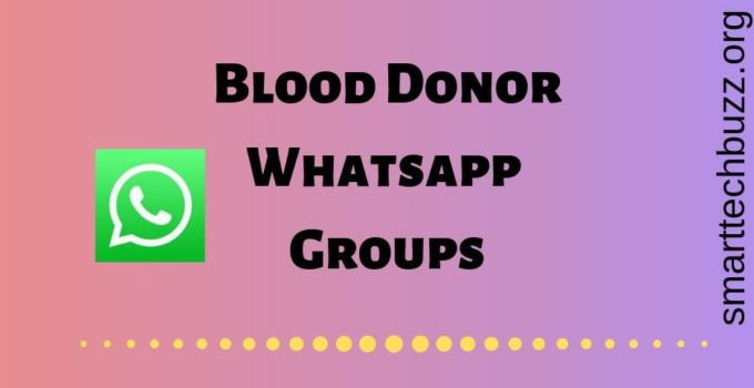 Blood Donor whatsapp group link