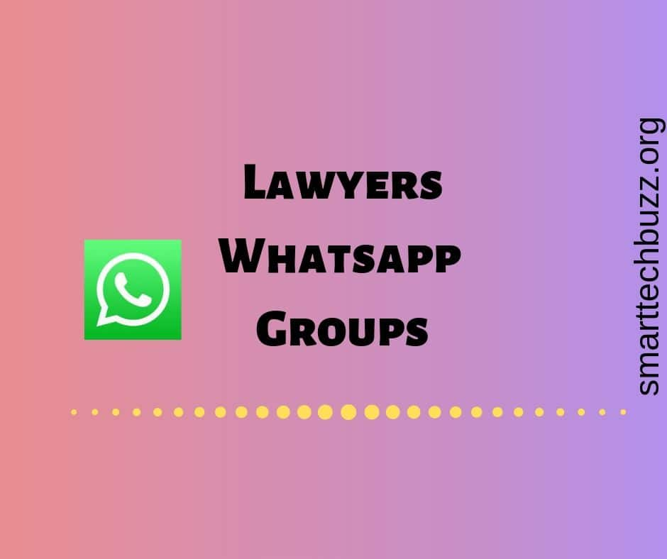 Lawyers whatsapp group link | Join latest and most active