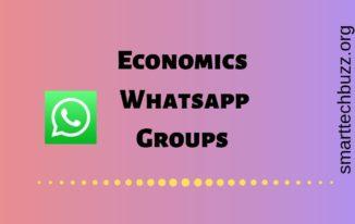 Economics Whatsapp group