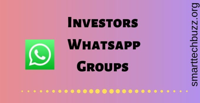 Investors whatsapp group link