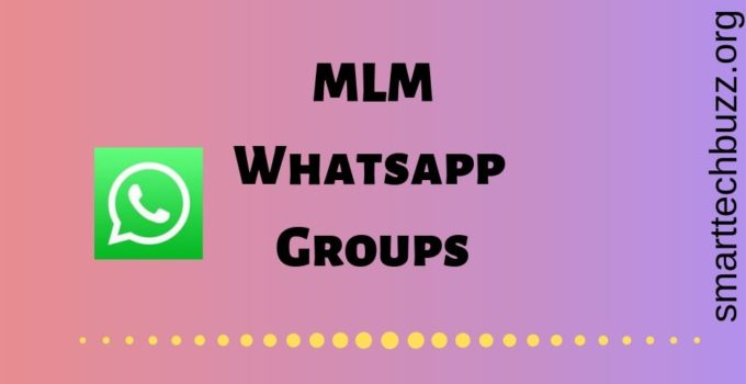 MLM Whatsapp Groups