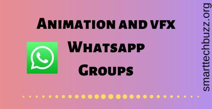 Animation & Vfx whatsapp group