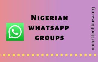 Nigerian Whatsapp Group Link