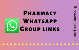 Pharmacy Whatsapp group links