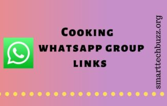 Cooking Whatsapp Group Link