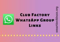 Club Factory WhatsApp Group Links