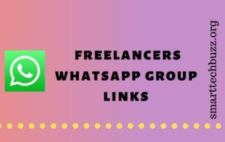 freelancers whatsapp group links