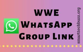 wwe whatsapp group link