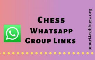 Chess Whatsapp group links
