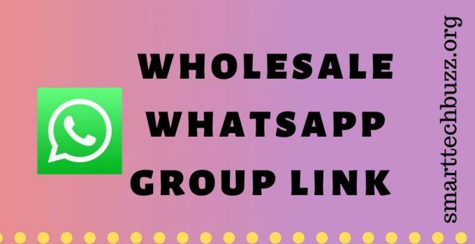 wholesale whatsapp group link