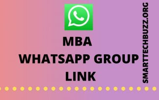 MBA Whatsapp Group Link