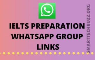 IELTS preparation Whatsapp Group Link