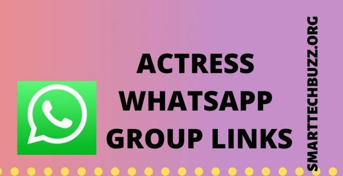 actress whatsapp groups links