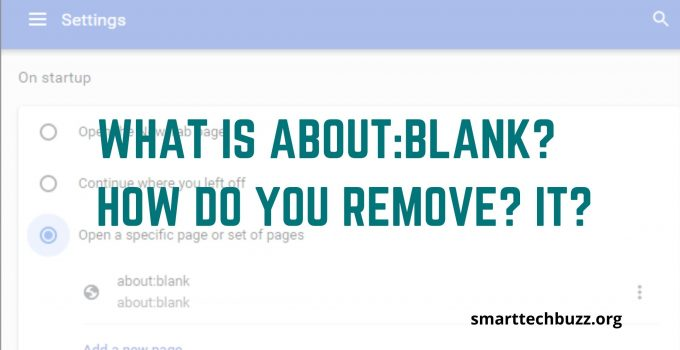 about blank blocked