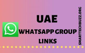UAE Whatsapp Group Link