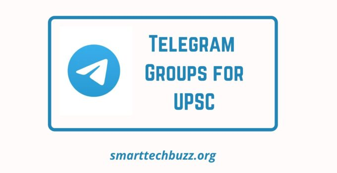 Telegram Groups for UPSC