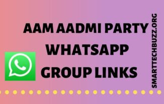 Aam Aadmi Party Whatsapp Group Links