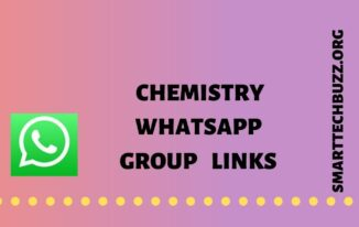 Chemistry whatsapp group links