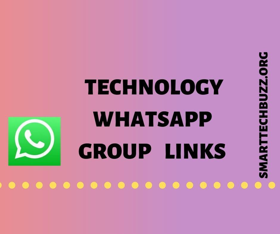 technology whatsapp group links