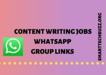 content writing jobs whatsapp group