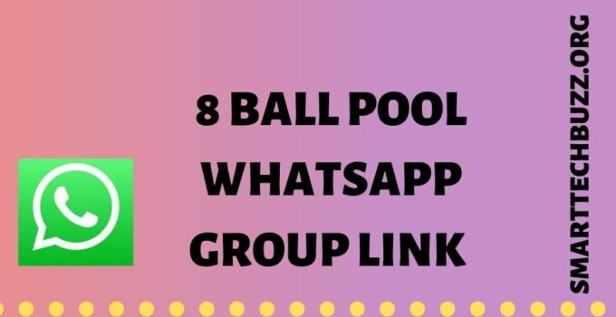 8 Ball Pool Whatsapp Group Link