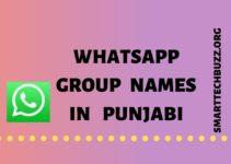 Punjabi Group Names